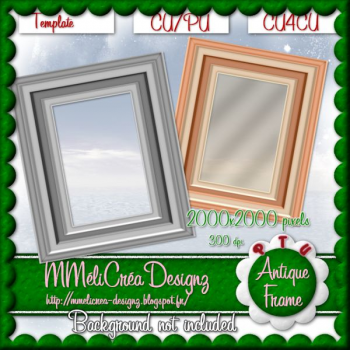 Antique Frame Template