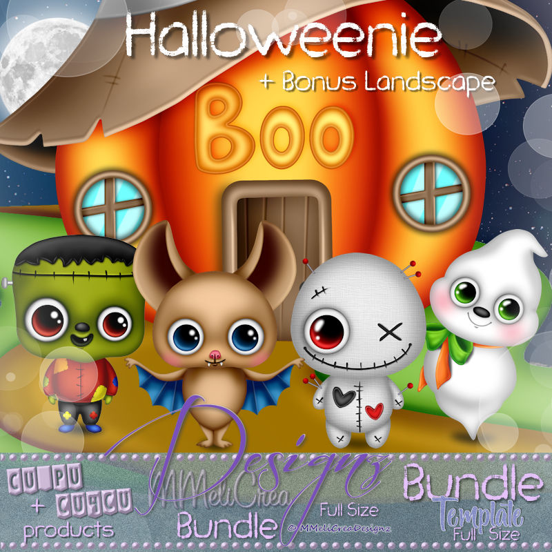 Bundle Template Halloweenie