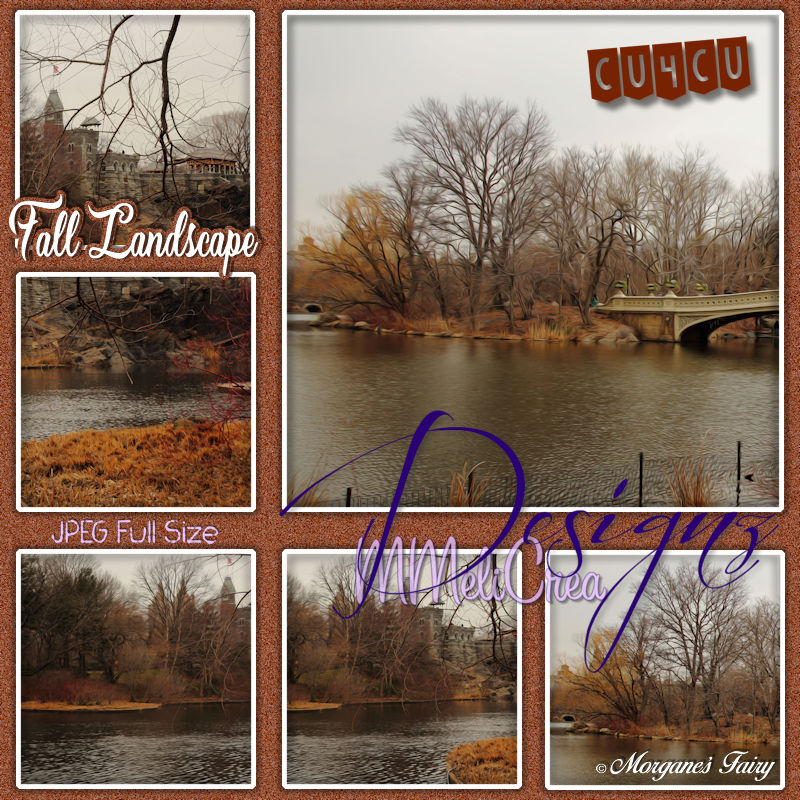 Fall Landscape Backgrounds