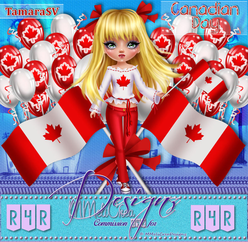 R4RSet - Canadian Day