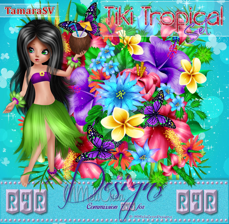 R4RSet - Tiki Tropical