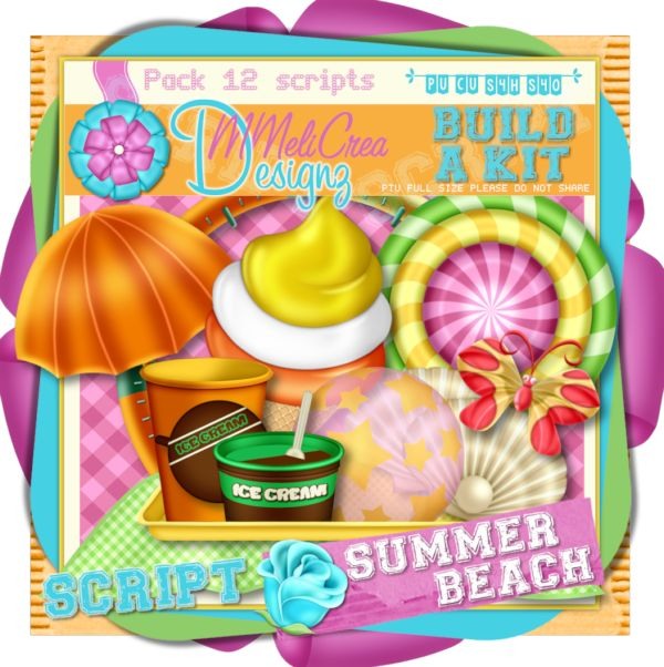 Build A kit - Summer Beach Scripts