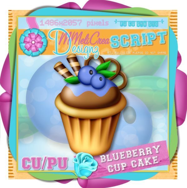 Blueberry Cup Cake Script