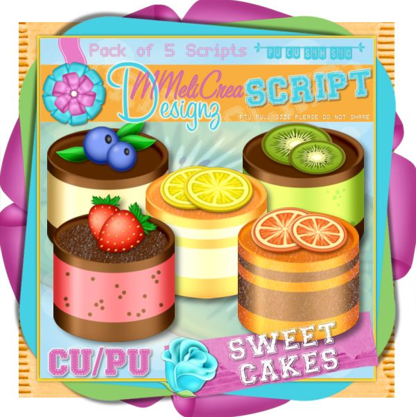 Scripts Pack - Sweet Cakes