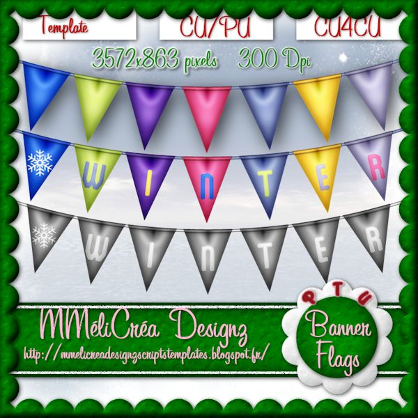 Banner Flags Template