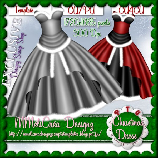Christmas Dress Template