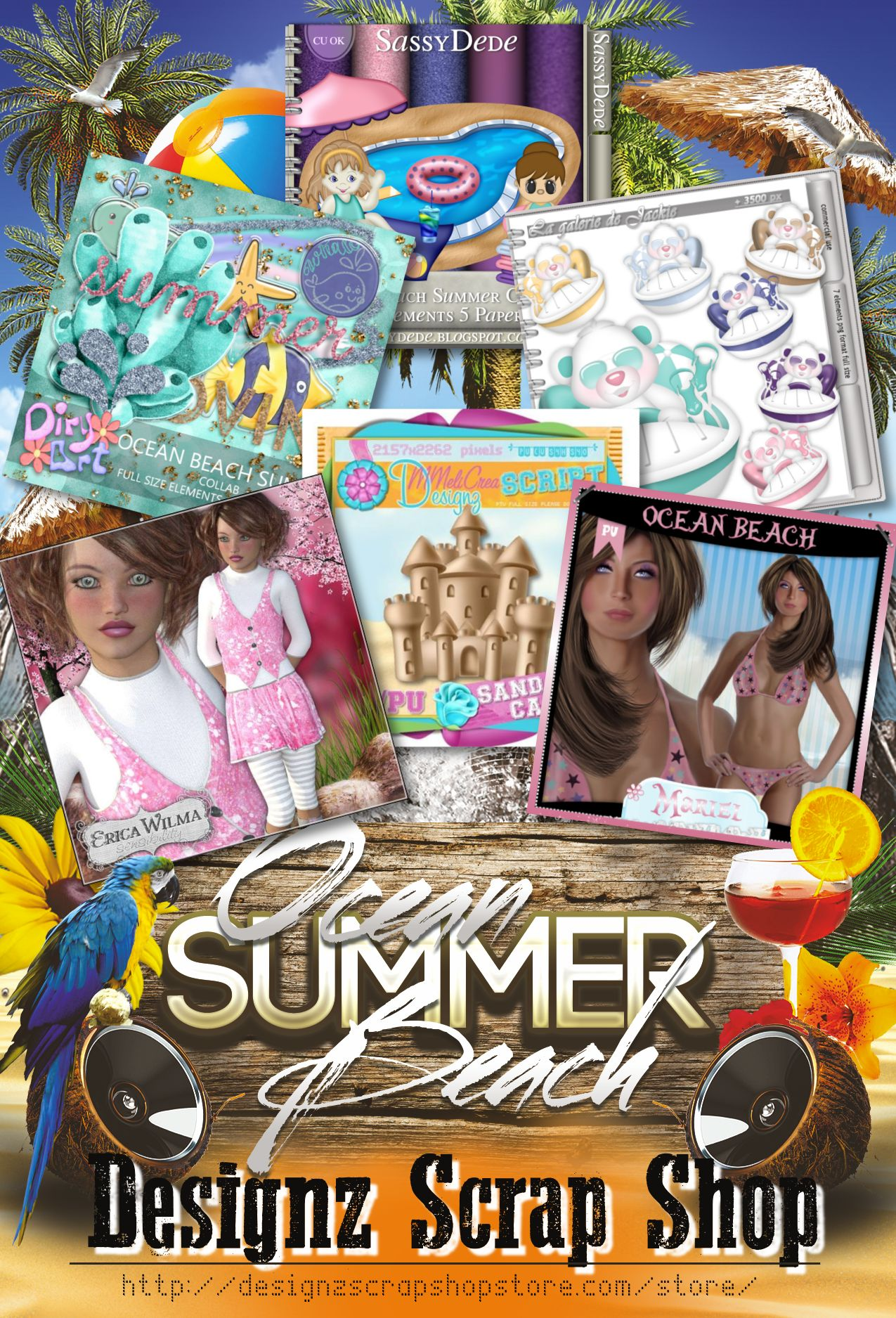 Ocean Beach Summer Collab