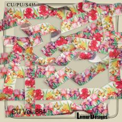 CU Vol. 884 Ribbons by Lemur Designs