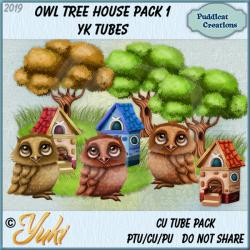 Owl Tree House Pack 1 YK Tubes