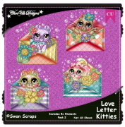 Love Letter Kitties Elements CU/PU Pack 2