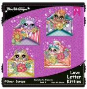 Love Letter Kitties Elements CU/PU Pack 4