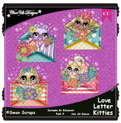 Love Letter Kitties Elements CU/PU Pack 5