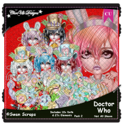Doctor Who CU/PU Pack 2