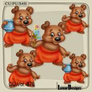 CU Vol. 878 Bear by Lemur Designs