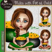 Mika with Pot of Gold (c) Elegance: Lilith