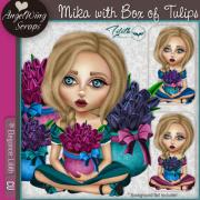 Mika with Box of Tulips (c) Elegance: Lilith