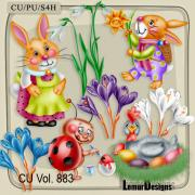 CU Vol. 883 Easter by Lemur Designs