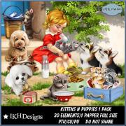Kittens n Puppies 1 Pack