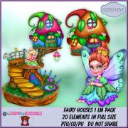 Fairy Houses 1 LM Pack