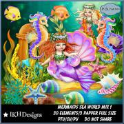 Mermaids Sea World Mix 1