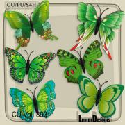 CU Vol. 893 Butterfly by Lemur Designs