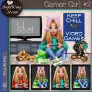 Gamer Girl #2 (c) Yuki