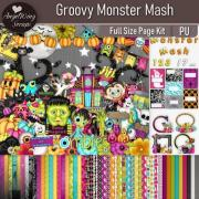 Groovy Monster Mash Mega Page Kit