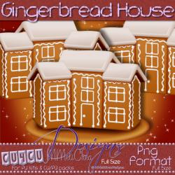 Gingerbread House CU4CU