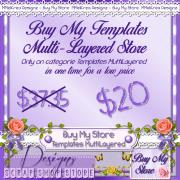 Buy My Templates MultiLayered Store