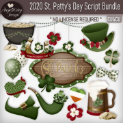 2020 St. Patty's Day Script Bundle (9 cu4cu scripts)