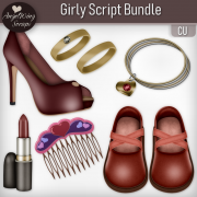 Girly Script Bundle (6 scripts)