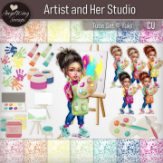 Artist and Her Studio (c) Yuki