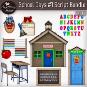 School Days #1 Script Bundle (8 scripts)