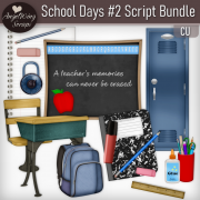 School Days #2 Script Bundle (8 scripts)