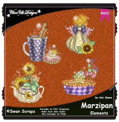 Marzipan Elements R4CU Pack